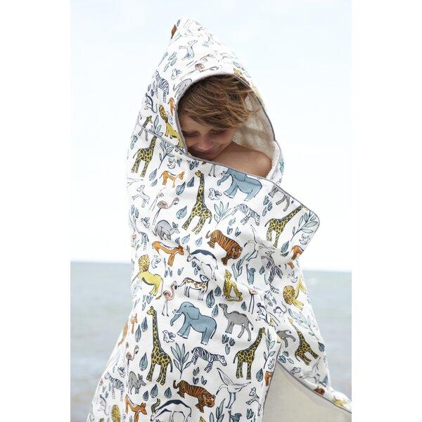 DwellStudio Safari Hooded Towel
