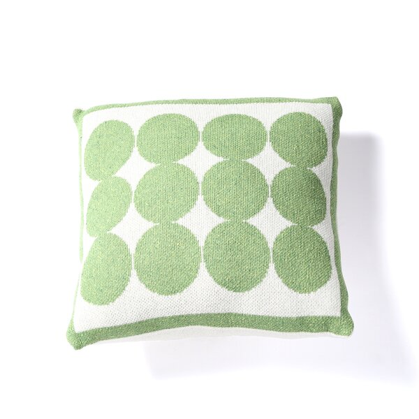 DwellStudio Graphic Dot Lime Pillow