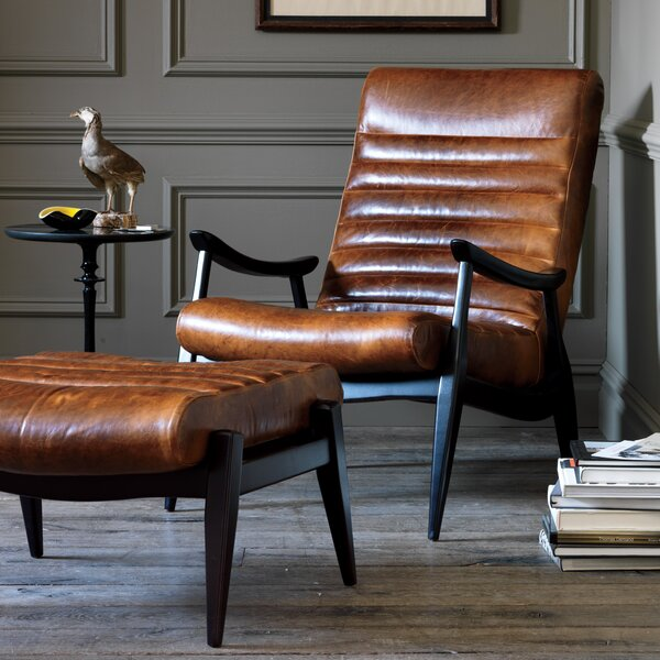 DwellStudio Hans Leather Chair