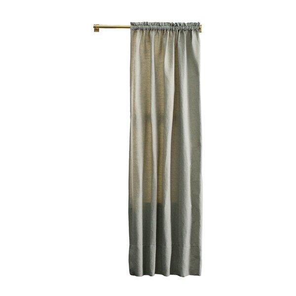 DwellStudio Tonal Tweed Curtain Panel