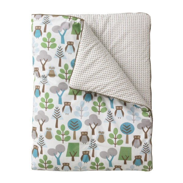 DwellStudio Owls Play Blanket