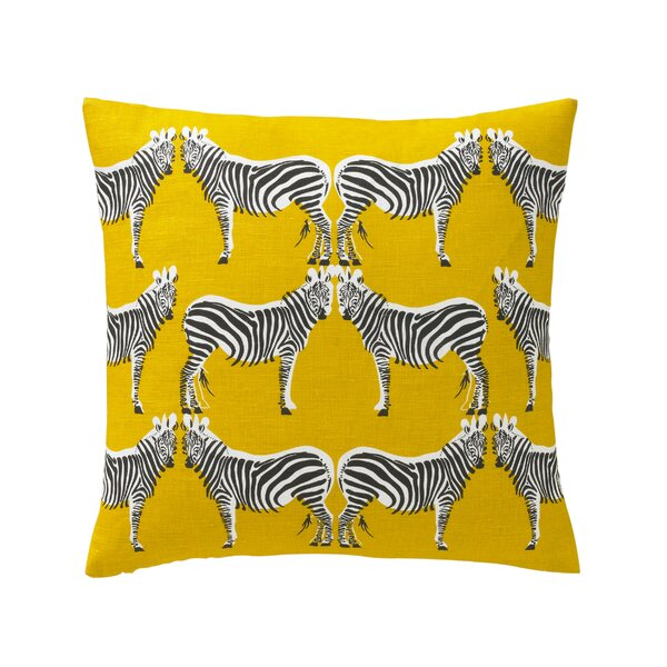 DwellStudio Zebra Pillow Cover