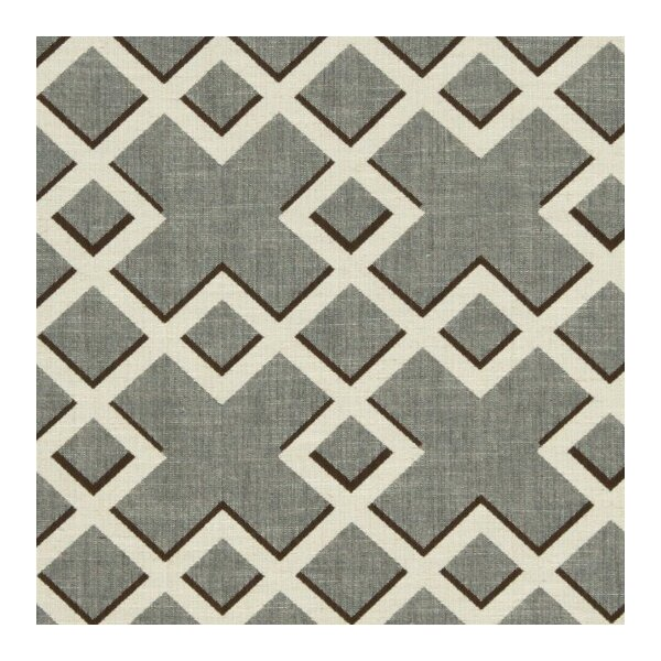 DwellStudio Shadow Trellis Fabric - Toffee