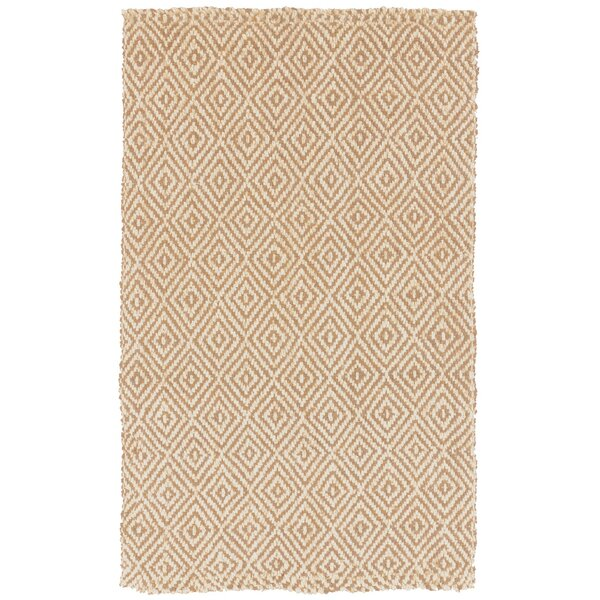 DwellStudio Diamond Jute Camel Rug