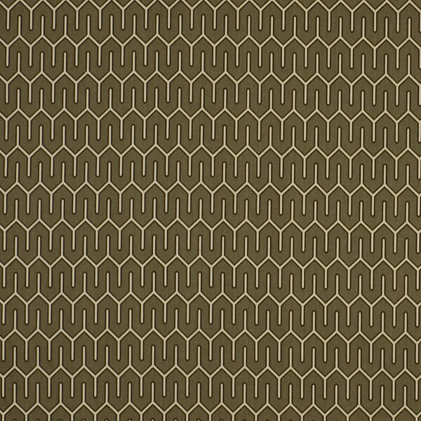 DwellStudio Maze Work Fabric - Brindle