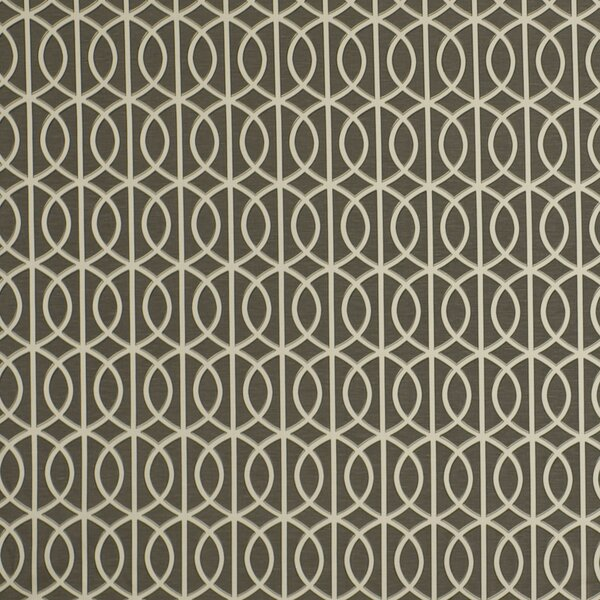 DwellStudio Gate Fabric - Charcoal
