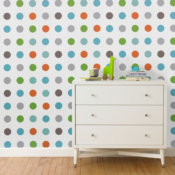 DwellStudio Dots Multi Wallpaper