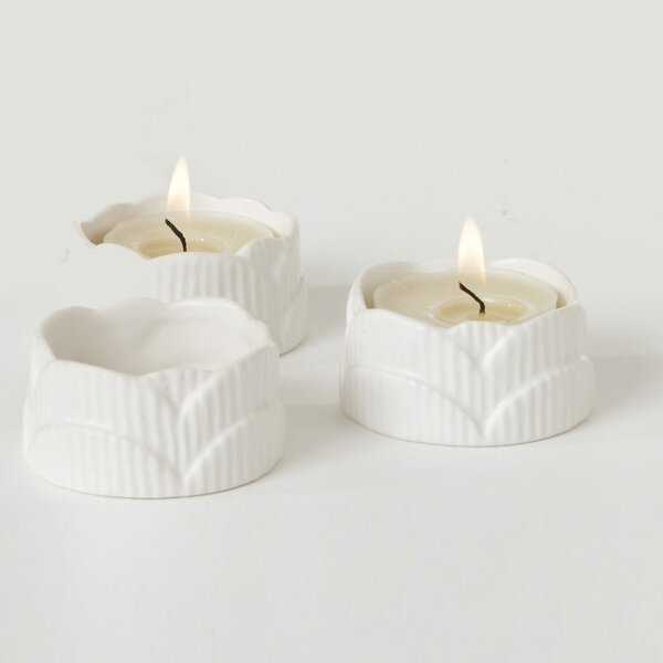 DwellStudio Scallop Tea Lights