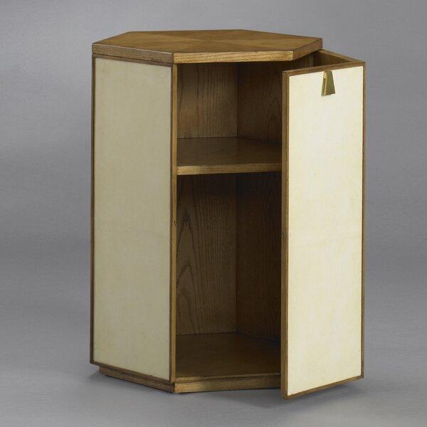 DwellStudio Barnett Parchment Side Table