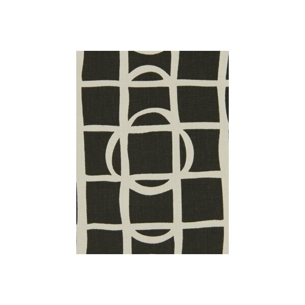 DwellStudio Lattice Graph Fabric - Ink
