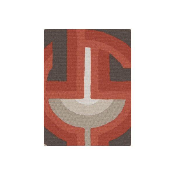 DwellStudio Futura Fabric - Persimmon