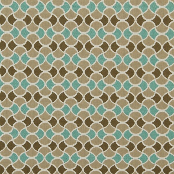 DwellStudio Carrington Fabric - Turquoise