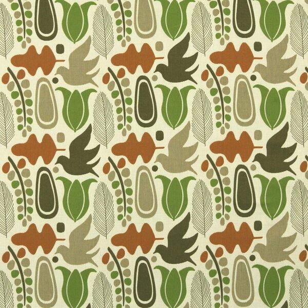 DwellStudio Finmark Fabric -Tangerine