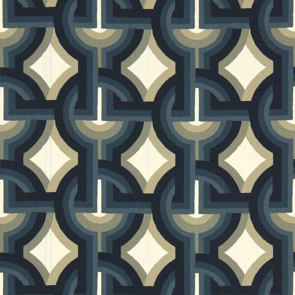 DwellStudio Futura Fabric - Midnight