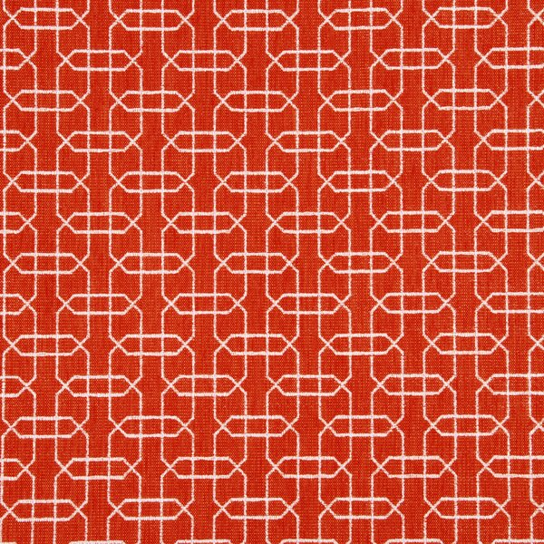 DwellStudio Ardmore Fabric - Persimmon