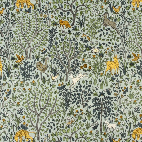 DwellStudio Folkland Fabric - Aquatint