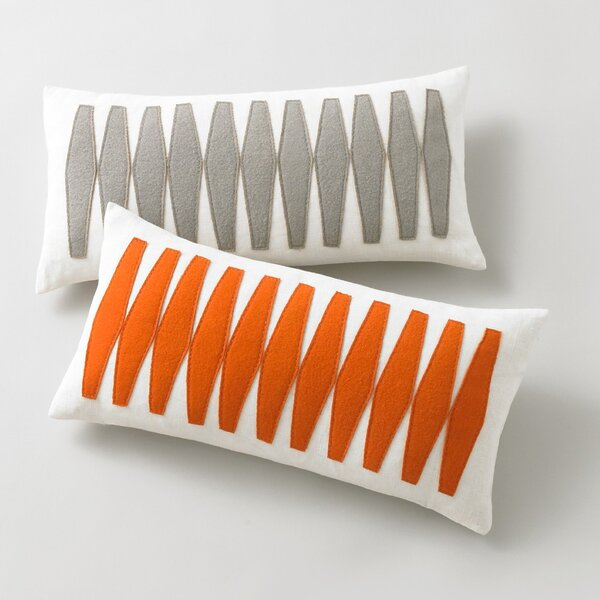 DwellStudio Otto Tangerine Pillow Cover