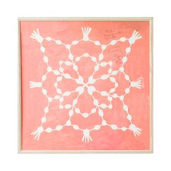 <strong>DwellStudio</strong> Paule Marrot Pink Maze Artwork