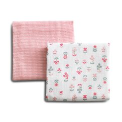 <strong></strong> Rosette Blossom Swaddle Blanket (Set of 2)
