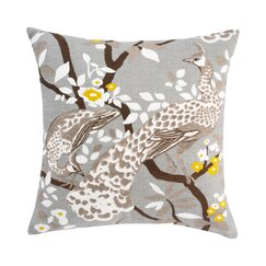 Peacock Citrine Pillow