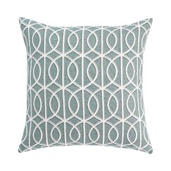 <strong>DwellStudio</strong> Gate Azure Pillow Cover