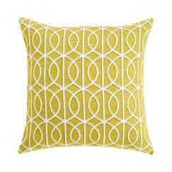 <strong>DwellStudio</strong> Gate Citrine Pillow Cover