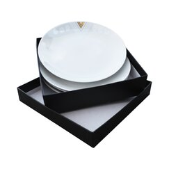 <strong></strong> Monochromatic Side Plates - 4 Piece Gift Set