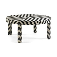 <strong></strong> Chevron Coffee Table