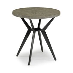 <strong>Odin Grey Shagreen Side Table</strong>