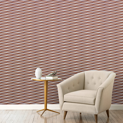 <strong>DwellStudio</strong> Ribbons Ash Wallpaper
