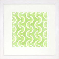 <strong>Graphic Pattern Lime Artwork</strong>