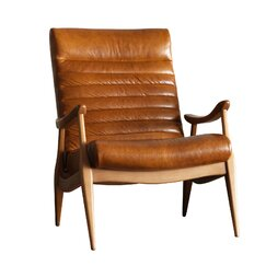 <strong></strong> Hans Leather Chair