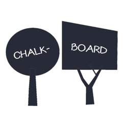 <strong></strong> Tree Chalkboard Wall Decal