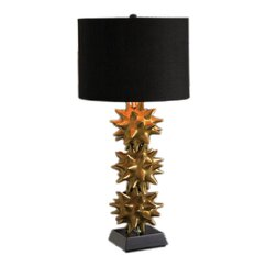 "<strong></strong> Urchin 29.5"" H Table Lamp with Drum Shade"