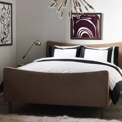 <strong></strong> Modern Border Ink Duvet Set