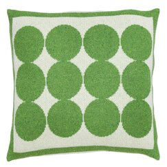 <strong>DwellStudio</strong> Graphic Dot Lime Pillow