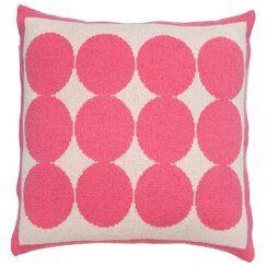 <strong></strong> Graphic Dot Orchid Pillow