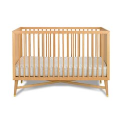 <strong></strong> Mid-Century Natural Crib