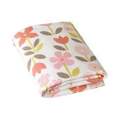 Rosette Fitted Crib Sheet