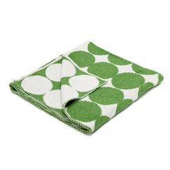 <strong>DwellStudio</strong> Graphic Dot Lime Blanket
