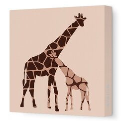 <strong>DwellStudio</strong> Graphic Giraffe Artwork