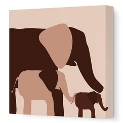 <strong>DwellStudio</strong> Graphic Elephant Artwork