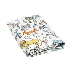 <strong></strong> Safari Fitted Crib Sheet