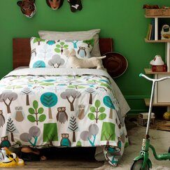 <strong></strong> Owls Duvet Set