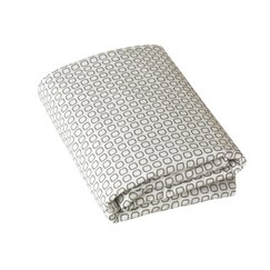 <strong>DwellStudio</strong> Squares Fitted Crib Sheet