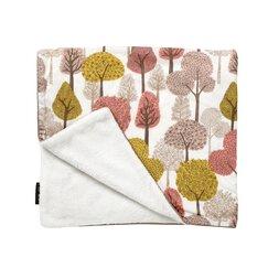 Treetops Velour Stroller Blanket