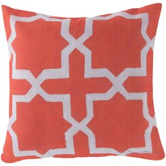 <strong></strong> Madurai Persimmon Outdoor Pillow