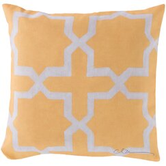 <strong>DwellStudio</strong> Madurai Lemon Outdoor Pillow