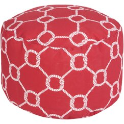 <strong>Rope Trellis Pouf</strong>