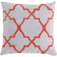 Minaret Persimmon Outdoor Pillow